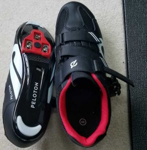 peleton spin shoe with cleats