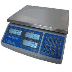 battery powered commercial retail scale 30 lb