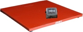 B-Tek 4x4 Floor Scale for Warehouses 5000 lb.