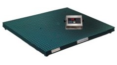 48x48 Floor Scale with Digital Readout Capacity 5000 lbs