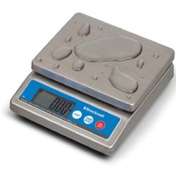 22lbs Capacity Salter-Brecknell SA3N253 ElectroSamson Digital Hand Held Scale with LCD Display