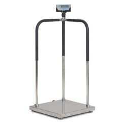 Salter Brecknell MS140-300 Portable Medical Scale Handrails