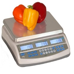 brecknell pc-60 commercial scale for produce