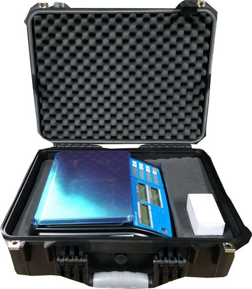 pc3060 digital scale carrying case