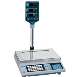 CAS AP-1 Price Computing Scale Tower Display