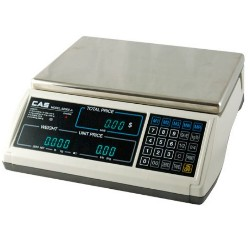 CAS S-2000JR Price Computing Scale VFD Display 15 lb.