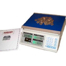 Coin Counting Scale count quarters dimes nickels with ease