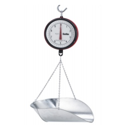 Chatillon NTEP Hanging Scale Scoop 20 lb. Double Dial