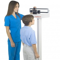 Detecto 439 Eye-Level Physician Scale with Height Rod