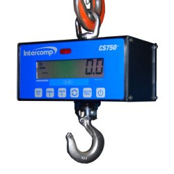 500 pound digital crane scale Intercomp CS750 hanging scale