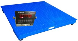 Optima NTEP OP-916 4x4 Floor Scale 2000 lb