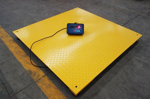 Floor scale 40 x 40 for weighing pallets 10 000 x 1 lb for 10000 lb floor scale