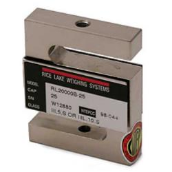 Stainless Steel S-Beam Load Cells 250 lb.