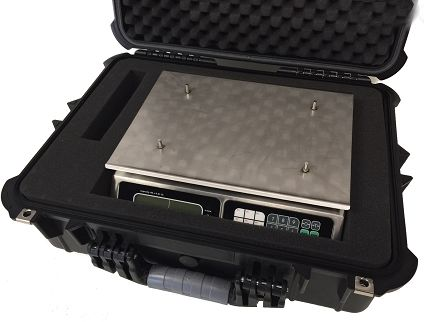 torrey scale lpc-40l carry case with foam