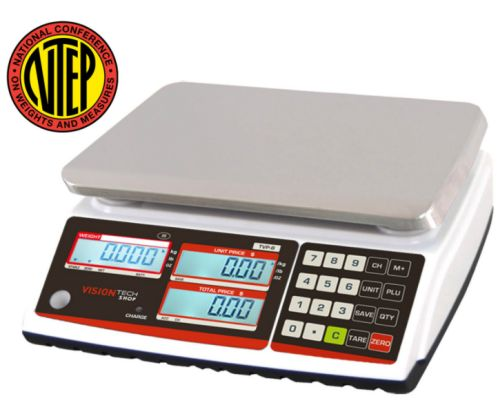vision tech shop ntep price computing scale