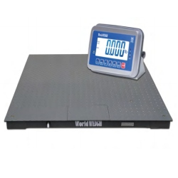 WorldWEIGH 4x4 Floor Scale for Warehouses 5000 lb.
